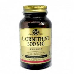 L - ORNITHINE 500 Mg Solgar