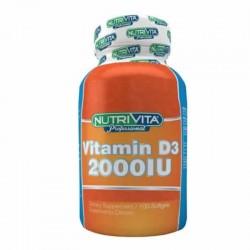Vitamina D3 2000 IU x 100...