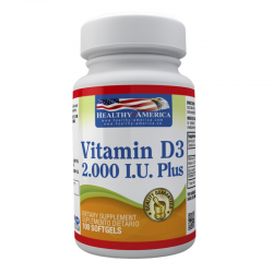 Vitamina D3 x 2000 IU x 100...