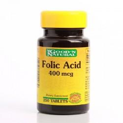 Acido Fólico 400 Mcg x 250...
