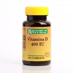 Vitamina D 400 IU x 100 Tab...