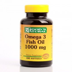 Omega - 3 Fish Oil 1000 Mg...