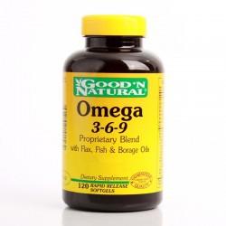 Omega 3-6-9 x 120 Soft  -...