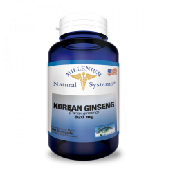Korean Ginseng 820 Mg x 60...