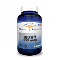 Biotina 900 Mcg x 100 Soft...