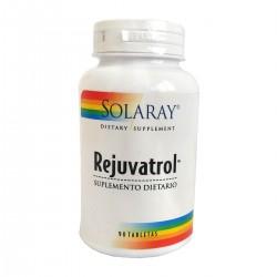 Rejuvatrol x 90 Tab - Solaray
