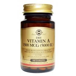 Dry Vitamin A 5000 IU x 100...