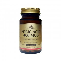 Ácido Fólico 400 Mcg x 100...