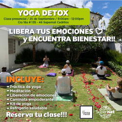 Clase de Yoga X 1- Supernat...