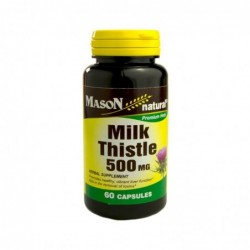 Milk Thistle 500 Mg - Mason
